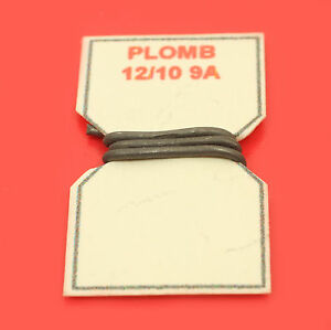 10 cm de fil de plomb fusible 12 10 9a pour porte fusible porcelaine vintage ebay. Black Bedroom Furniture Sets. Home Design Ideas