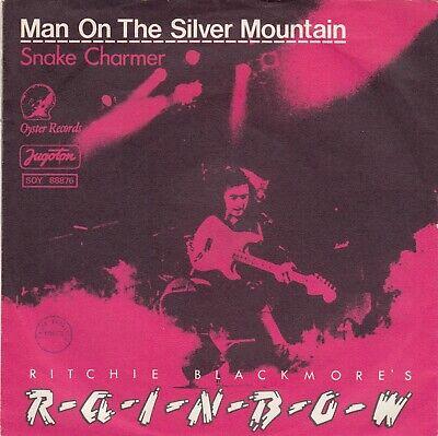 RITCHIE BLACKMORE'S RAINBOW MAN ON THE SILVER MOUNTAIN RECORD YUGOSLAVIA 7