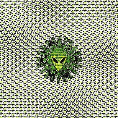 ALIENS BLOTTER ART PSYCHEDELIC LSD ACID FREE PAPER 900 SQUARES HOFMANN