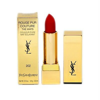 YSL ROUGE PUR COUTURE THE MATS COULEUR PURE 3.8ML #202-ROSE CRAZY