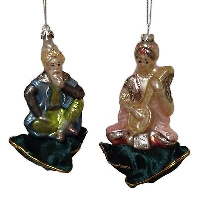 Set of 2 Large Elegant ORIENTAL COUPLE Christmas Ornaments by Cody Foster](Elegant Christmas Ornaments)