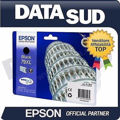 CARTUCCIA ORIGINALE EPSON 79XL BLACK INK-JET WF-4630 4640 5110 5190 5620 5690