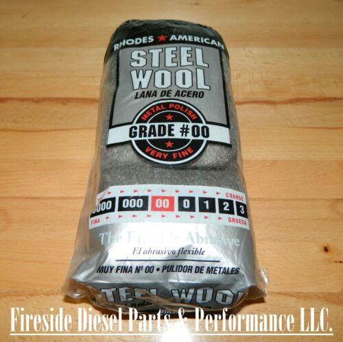 Rhodes American Steel Wool 12 pad Grade #00