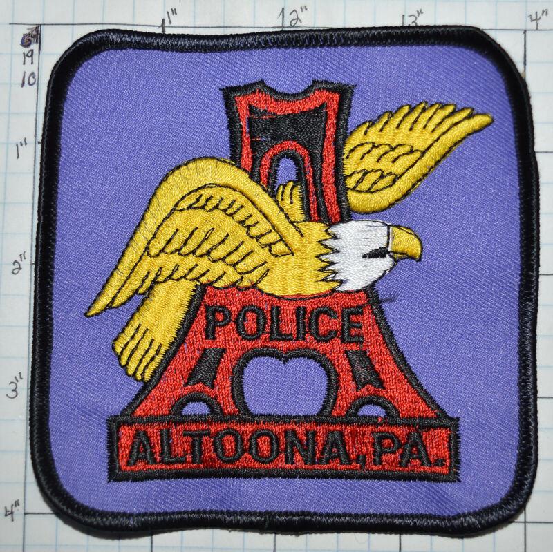 PENNSYLVANIA, ALTOONA POLICE DEPT PATCH