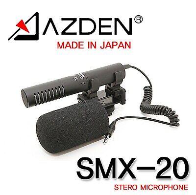 Azden SMX-20 Compact Directional DSLR Stereo Microphone