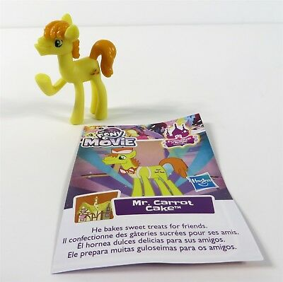 MLP My Little Pony The Movie Friendship Is Magic Series 3 Mr Carrot - Mr Cake Mlp