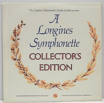 A Longines Symphonette Collector's Edition   Vinyl LP  LWS192