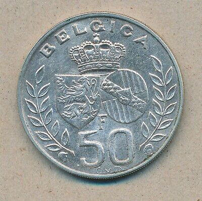 België/Belgique 50 Fr. Boudewijn/Bauduoin 1960 Lat Morin 544 (150629)