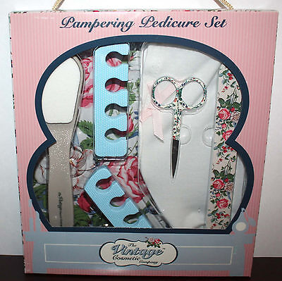 The Vintage Cosmetic Company Pampering Pedicure Set **
