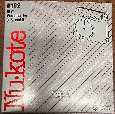 Ibm Wheelwriter 3 5 And 6 B192