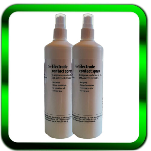 2 x EKG Elektroden Spray 250 ml ASID BONZ Kontaktspray