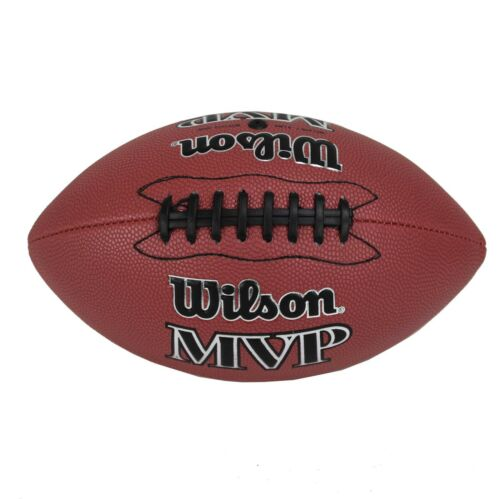 Wilson MVP Junior Size Double Lace Leather Composite American Football   WTF1410