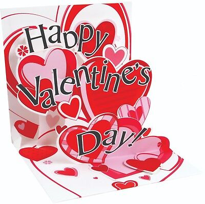 Valentine For Kids (Happy Valentine's Day Card for Kids or Wife| Keepsake Cards | Popup Card)
