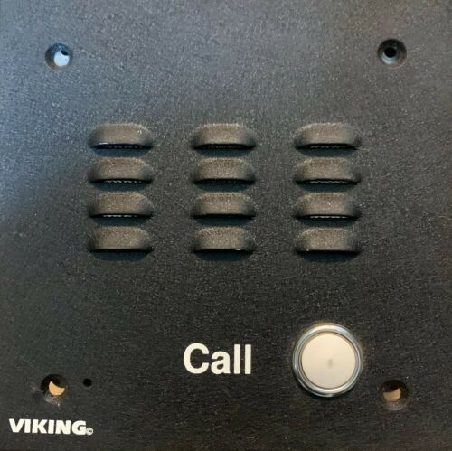 Viking Electronics VK-W-1000 Weather Resistant Door Call Button Intercom w/ BOX