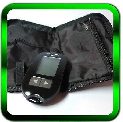 ACCU CHEK Aviva mg/dL NEU Blutzuckergerät | Gerät mit Mappe