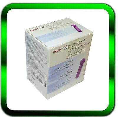 Beurer Lanzetten 100 Stück | Soft Touch 0,20 mm | Lanzetten