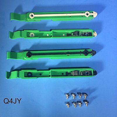 4-Pack: Dell Dimension/Optiplex PC Hard Drive Mounting Rails 87VYR Bracket Clip 4 Pack Hard Drive