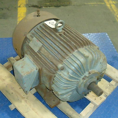 Lincoln 30hp 3-phase High Efficiency Ac Motor C-3g5054 Wks