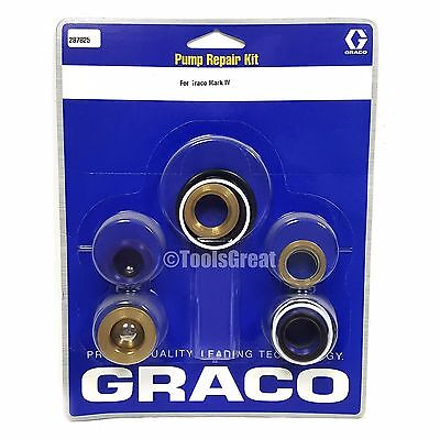 Graco Mark Iv Sprayer Pump Packing Repair Kit 287825