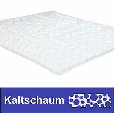 Kaltschaum Topper Matratze 180x200 cm für Boxspringbetten Matratzenauflage 4cm