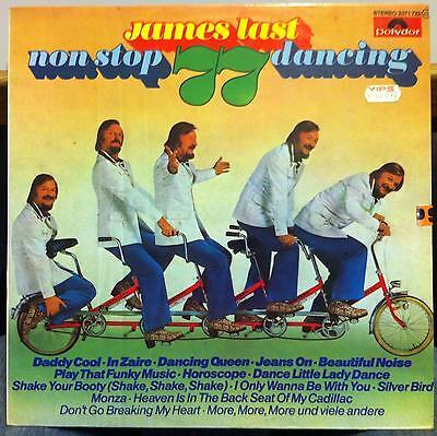 JAMES LAST non stop dancing 77 LP Mint- 2371 723 Spain Funk 1976