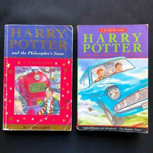 Harry Potter Philosopher's Stone First Ed. Plus Chamber of Secrets.
