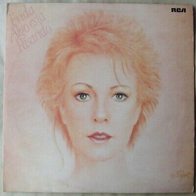 FRIDA ABBA Something's Going On SOUTHAMERICA LP Algo Esta Pasando PHIL COLLINS