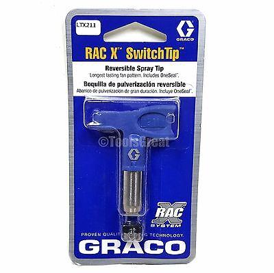 Graco Rac X Switchtip Ltx211 Latex Paint Spray Tip 211