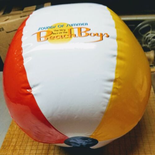 """BEACH BOYS """" Sounds of Summer"""" Promotional Beach Ball NEW Sealed Package 2003"""