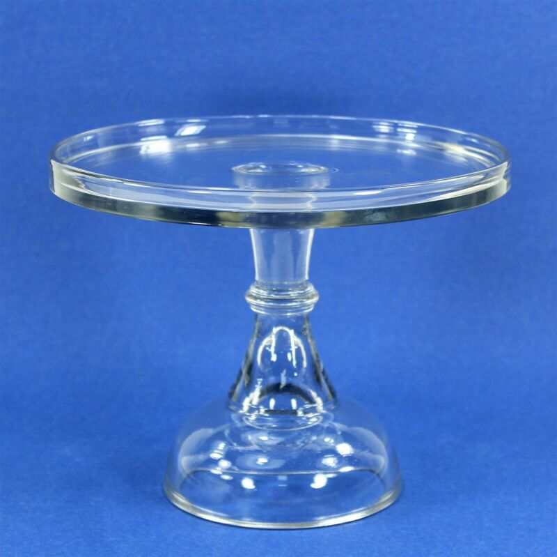 Antique Cake Stand, EAPG Bakery Pedestal, Central Glass ? VGC