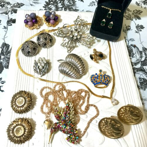L19 Vintage & Costume Jewelry Lot