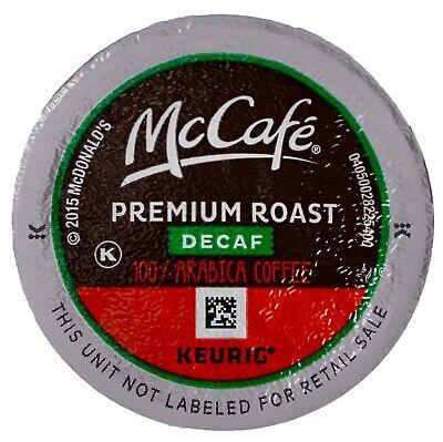 100% Arabica Coffee Pods (McDonald's McCafe Decaf Medium Roast Coffee 100% Arabica Beans Keurig K-Cup)