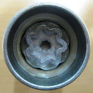 SAAB VAUXHALL OPEL LOCKING WHEEL NUT KEY FER1726 + VARIANTS LOCKING BOLT REMOVAL