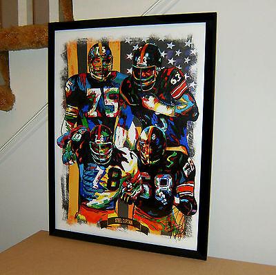 Steel Curtain Pittsburgh Steelers Football Sports Poster Print Wall Art -