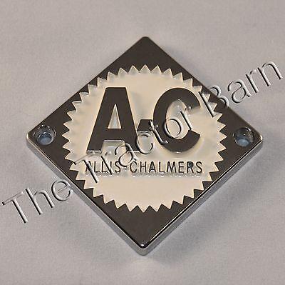 Allis Chalmers Crme Front Hood Nose Emblem D10 D12 D19 Cream 233852 70233852
