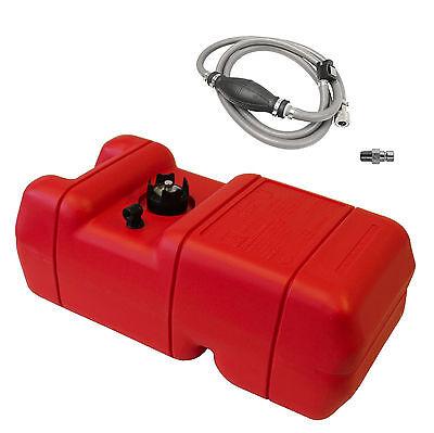 23L Benzintank Tragetank +Pumpball +Schlauch + Anschluss für Honda Außenborder