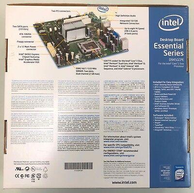 Intel D945GCPE , LGA775 Socket , Intel Motherboard