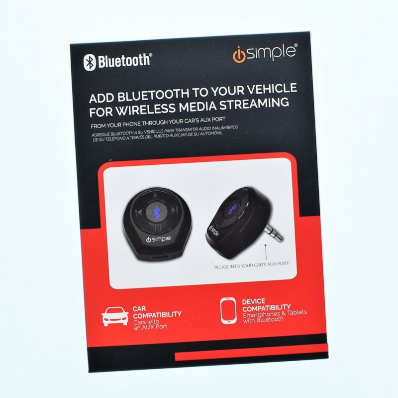 iSimple Bluetooth For Wireless Media Streaming