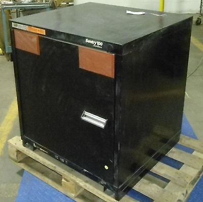 Stanley 33h 30w 28d Vidmar Sentry 100 Static Proof Cabinet Pzb