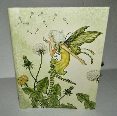 Amy Brown Art Dandelion Fairy Spiral Lined Paper Notebook Writing Paper