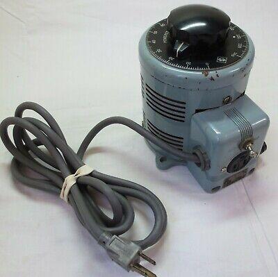 Older Superior Model 116 Powerstat Autotransformer 0-140vac See Details