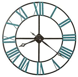 625-574 -THE ST. CLAIR  A 36  625574 WROUGHT IRON  HOWARD MILLER WALL CLOCK