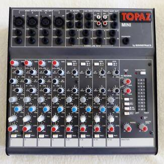 SOUNDTRACS TOPAZ MINI MIXER MADE IN ENGLAND Paradise Point Gold Coast North Preview