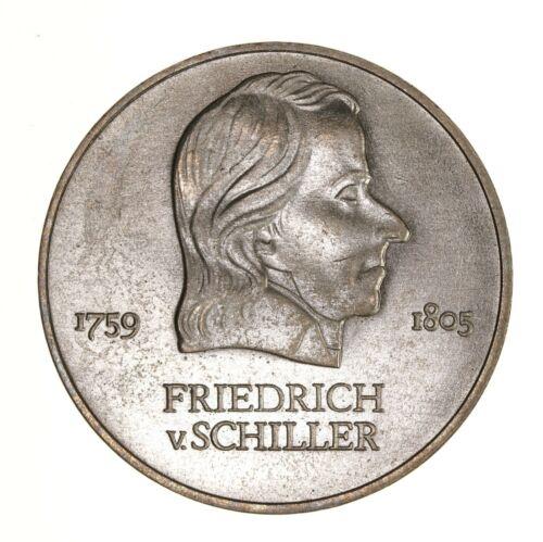Raw 1972-A East Germany 20 Mark Friedrich Schiller