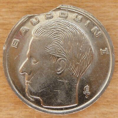 Belgique Monnaie fautée - Faulty coin - Mislag munt
