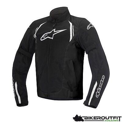 ALPINESTARS Motorradjacke AST AIR Jacke Textil schwarz mit Protektoren (Alpinestars Jacke Männer)