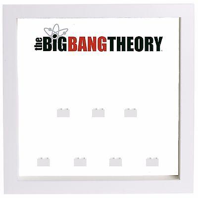 Lego Minifigure Display Case Frame The Big Bang Theory minifigs - Bigbang Superheroes
