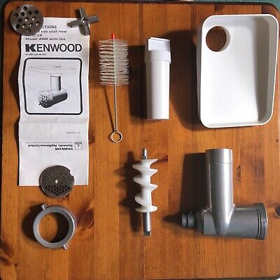 KENWOOD CHEF VINTAGE  MINCER ATTACHMENT A920 UNUSED, COMPLETE & WITH BOX
