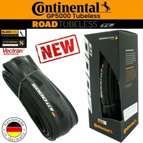 Continental Grand Prix GP 5000 TUBELESS 700x 25 28 32 Folding Tubeless Tire Bike