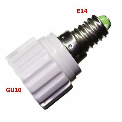 GU10 E14 Adaptador de Lámpara GU10 Lámpara De E14 Casquillo Roscado #a865